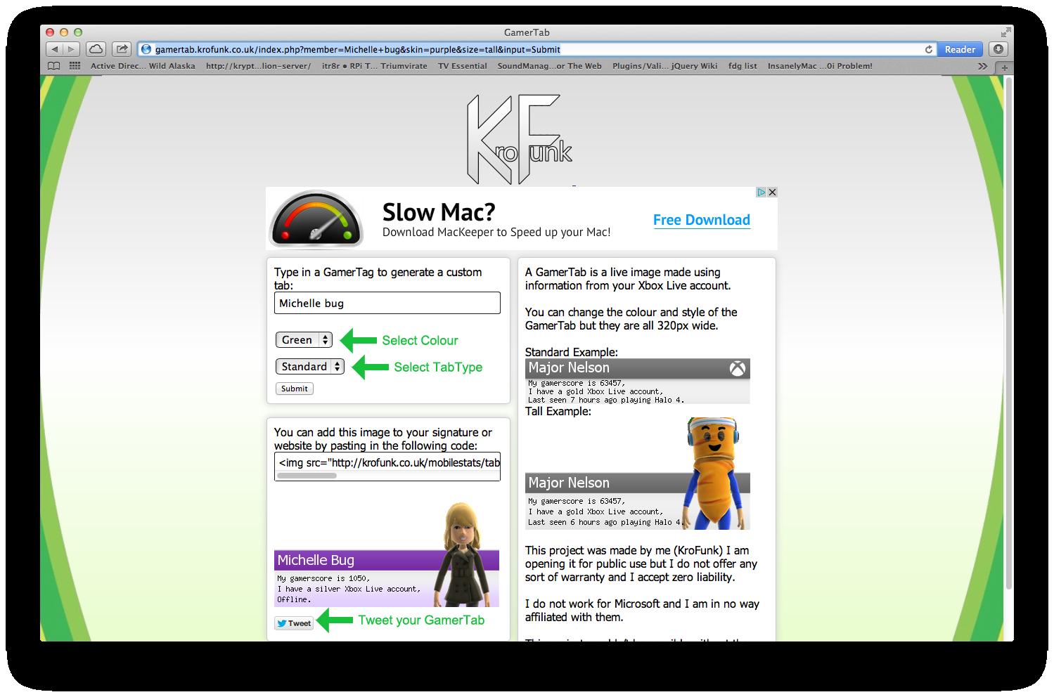 Robin's Blog: GamerTag Mobile WebApp lookup and GamerTab!